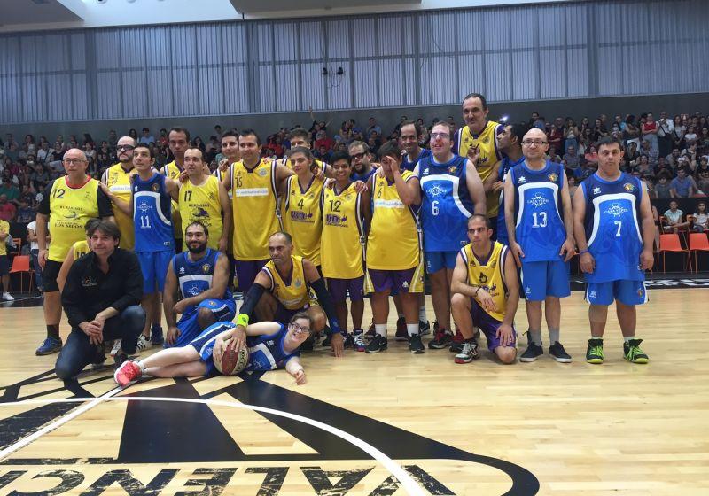 Campeones y Aderes en L'Alqueria del Basket