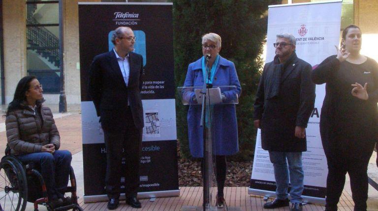 VALÈNCIA HA SIDO LA PRIMERA CIUDAD EN RECIBIR EL DIPLOMA 'CIUDAD MAPCESIBLE'
