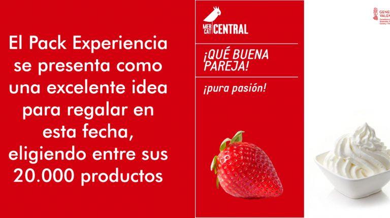 El Mercado Central invita a sus clientes a 'emparejar' alimentos por San Valentín