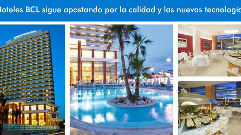 Hoteles BCL sigue apostando por la calidad y las nuevas tecnologías