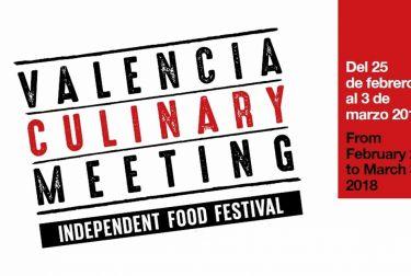 Valencia Culinay Meeting se celebrará del 25 de febrero al 3 de marzo de 2018
