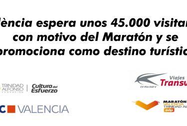 La Fundación Turismo València, la Fundación Trinidad Alfonso y Viajes Transvia se unen para promocionar la ciudad como destino turístico y deportivo