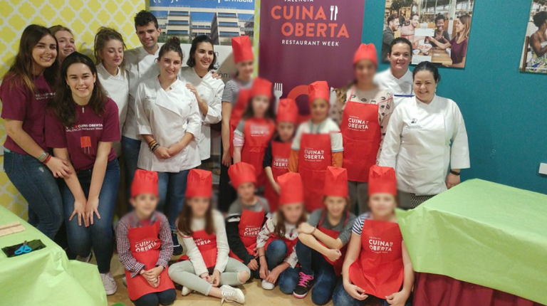 Cuina Oberta impulsa talleres infantiles gastronómicos en el Mercado de Colón