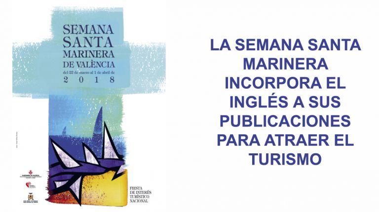 LA SEMANA SANTA MARINERA INCORPORA EL INGLÉS A SUS PUBLICACIONES PARA ATRAER EL TURISMO