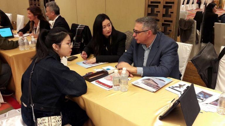 Turisme exhibe el destino Comunitat Valenciana ante más de 300 profesionales del sector en China