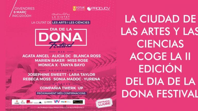 Valencia bailará el 8-M al ritmo de las dj y artistas en la Ciudad de las Artes y de las Ciencias