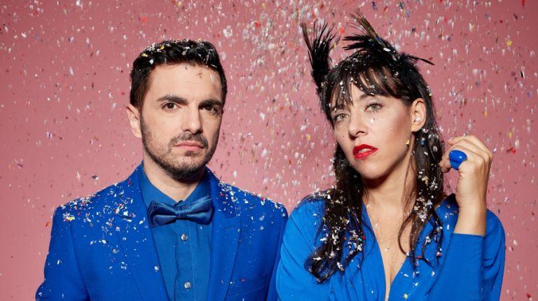 El dúo argentino Miranda! tocará su electropop en València