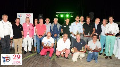 Fin de fiesta del Trofeo Peñón de Ifach en el Real Club Náutico de Calpe