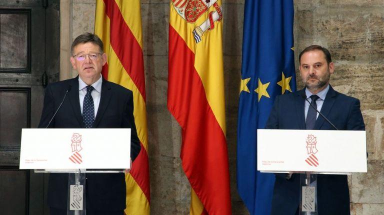 Puig destaca el compromiso adoptado por el Ministerio de Fomento para agilizar el Corredor Mediterráneo y liberar el peaje de la AP-7