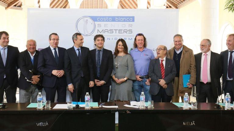La provincia de Alicante se sitúa en el epicentro del golf mundial gracias a la celebración del 'Costa Blanca-Benidorm Senior Masters'