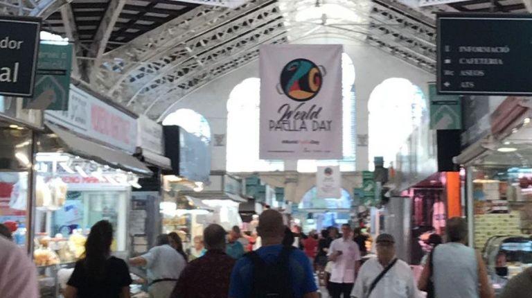 El Mercado Central se suma a la celebración del World Paella Day