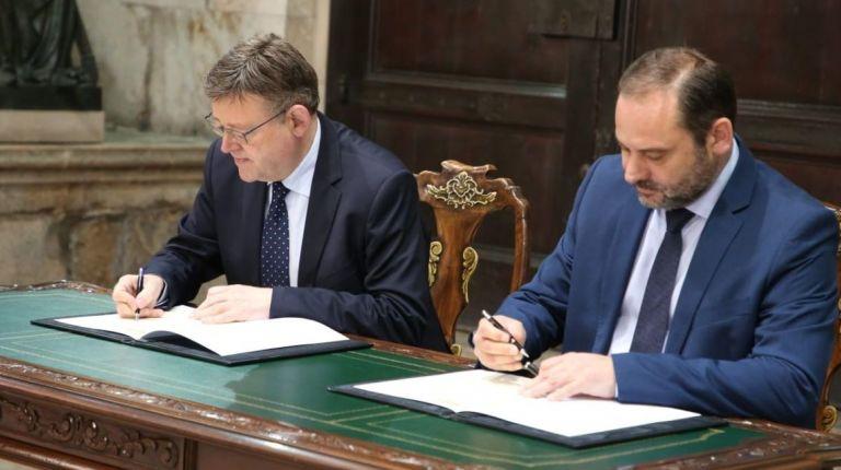 Ábalos firma el convenio de ayudas a la vivienda por el que la Comunitat Valenciana recibe del Ministerio de Fomento 164,50 M€
