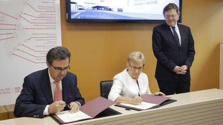 """Puig destaca que la adquisición de equipamiento oncológico  permitirá """"mejorar la vida de los pacientes"""""""
