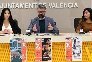 Cultura festiva presenta la 10ª edición del carnaval de Ruzafa