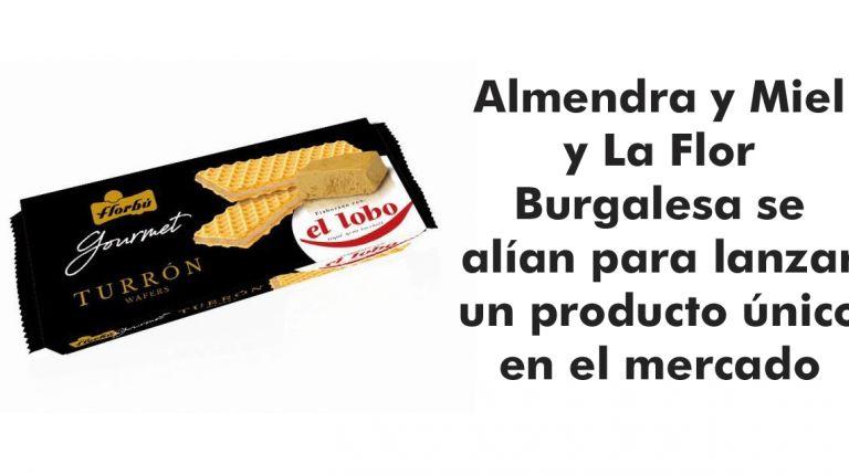 Almendra y Miel y La Flor Burgalesa se alían para lanzar un producto único en el mercado