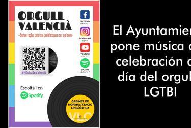 El Ayuntamiento pone música a la celebración del día del orgullo LGTBI