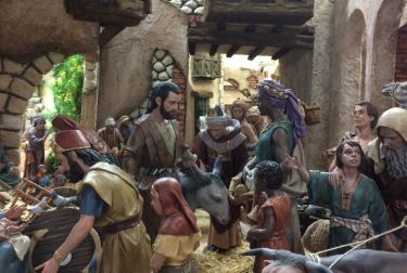 Un gran Belén lucirá en la Casa de Cultura de Altea estas navidades
