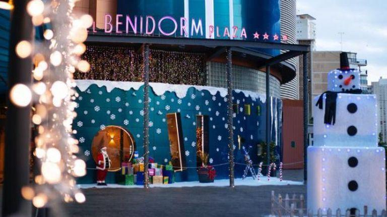 La decoración navideña entra con fuerza en el sector hotelero