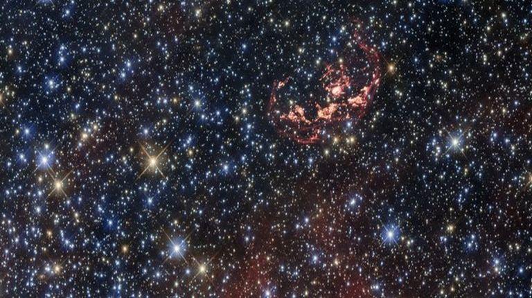 sobreviviente estelar de la explosión de una supernova