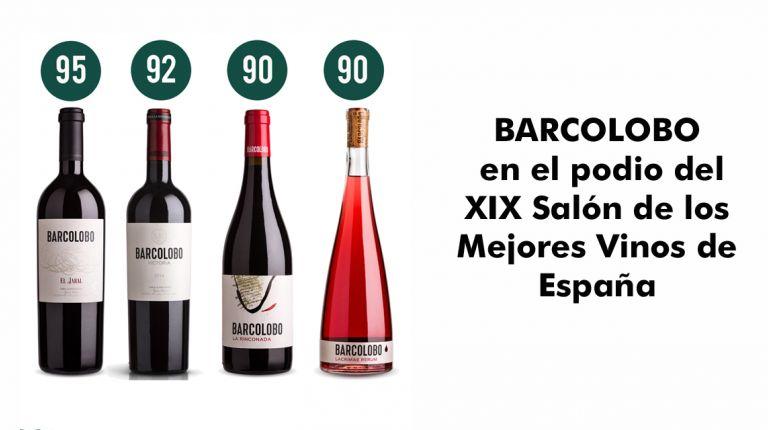 BARCOLOBO en el podio del XIX Salón de los Mejores Vinos de España