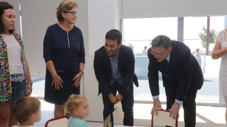 Puig apuesta por la educación como la herramienta más eficaz para superar las desigualdades y generar crecimiento económico