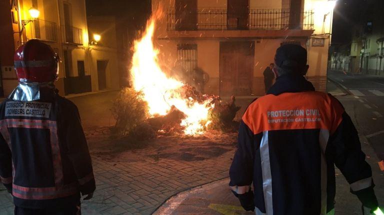 El Consorcio Provincial de Bomberos de Castellon garantizará la seguridad en toda la provincia durante los festejos de Sant Antoni