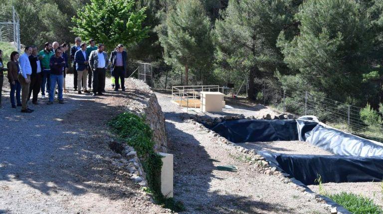 La Diputación de Castellon inaugura la depuradora del Castillo de Villamalefa