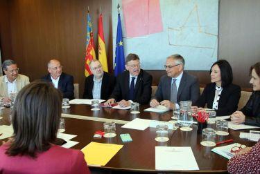 Puig anuncia una reunión con los municipios afectados por la falta de inversión de los Presupuestos Generales en las líneas de cercanías