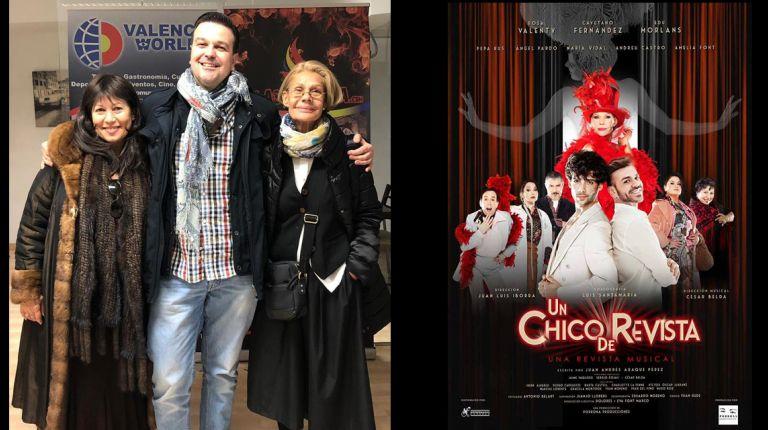 """¡Últimos días de """"Un chico de revista"""" en el teatro Olympia!"""