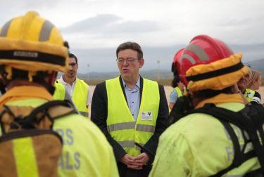 Puig anuncia que la Generalitat asumirá la gestión directa del Aeropuerto de Castellón a finales de 2019