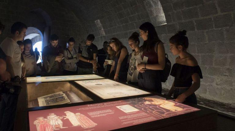 La Diputación de Castellon arranca su innovador programa de visitas escolares en su apuesta por el Castillo de Peñíscola