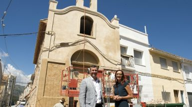Xeraco rehabilita su Ermita con la ayuda de la Diputación