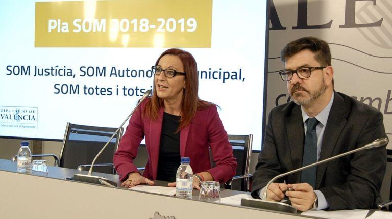 La Diputació habilita un SOM bianual que destinará 72 millones en ayudas directas a los municipios