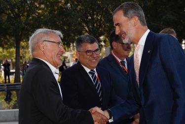 El alcalde de València ha participado esta mañana en el acto, presidido por el Rey Felipe VI