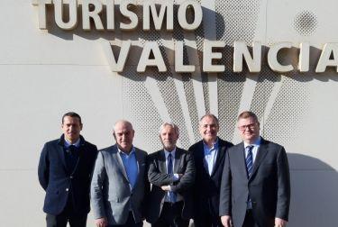 Las pernoctaciones de turistas en la ciudad de València superaron por primera vez la cifra de 5 millones en 2019