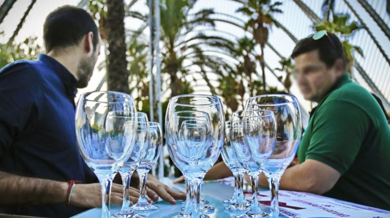 La V Sesión de Vinos de la C.V. triunfó en L´Umbracle