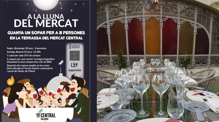 El Mercado Central sortea entre sus clientes una cena para celebrar la Nit de Sant Joan