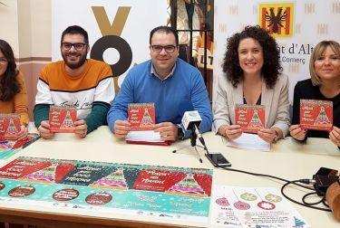 El Ayuntamiento de Altea presenta la campaña de Comercio para las Navidades