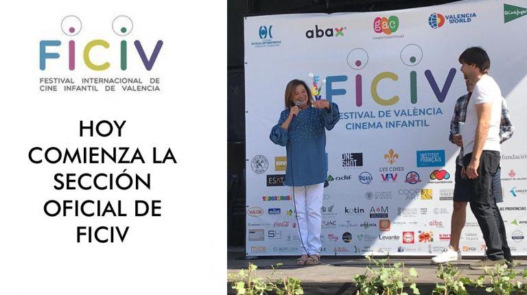 Hoy comienza  la  sección oficial del Festival de València-Cinema Infantil (FICIV)