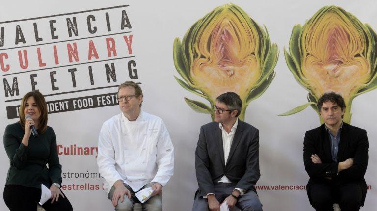 LA II EDICIÓN DEL VALÈNCIA CULINARY MEETING TRAE A LA CIUDAD A CHEFS INTERNACIONALES