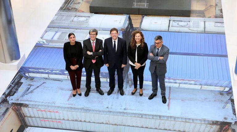 """Puig destaca la importancia del Puerto de València como """"vanguardia"""" del crecimiento económico de la Comunitat Valenciana"""