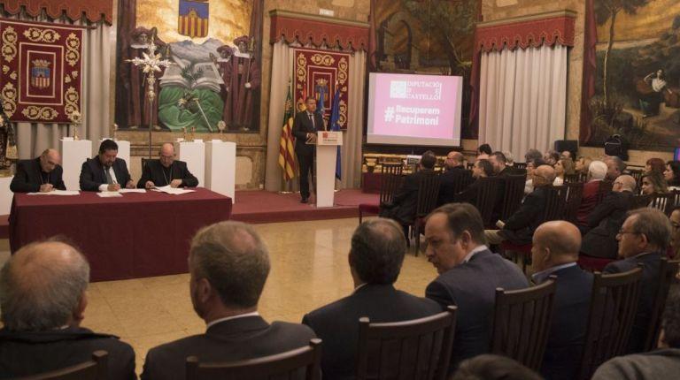 La Diputación de Castellón abandera el cuidado del patrimonio sacro de la provincia