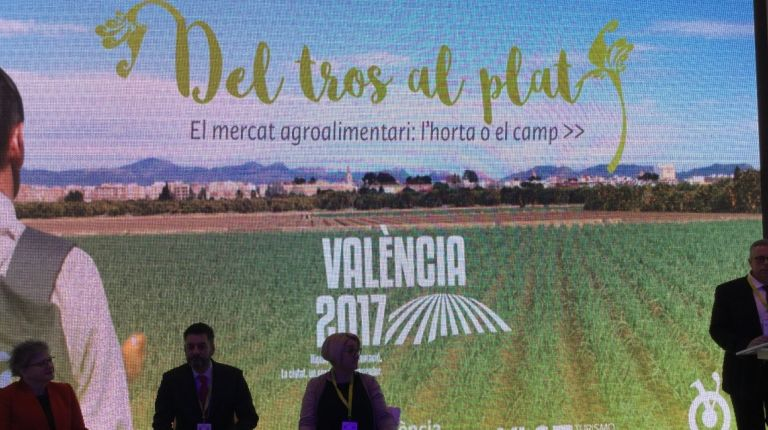 """""""Del tros al plat"""" une a productores, cocineros y mercados para reivindicar el territorio valenciano como destino turístico excelente"""