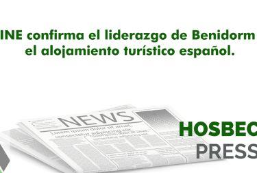 El INE confirma el liderazgo de Benidorm en el alojamiento turístico español.