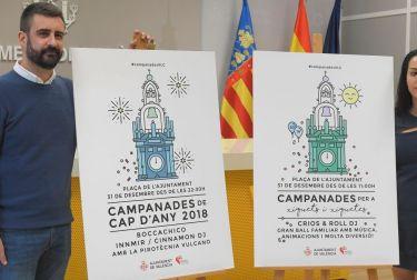 LA FIESTA «CAMPANADES DE CAP D'ANY 2018» EN LA PLAZA DE L'AJUNTAMENT VISIBILIZA A LA MUJER VALENCIANA TAMBIÉN COMO DJ