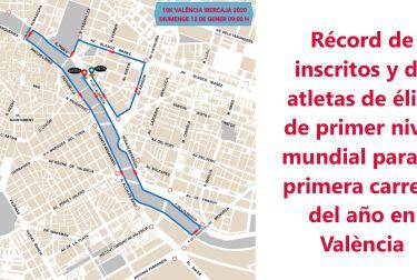 Más de 14.400 corredores y corredoras preparados para estrenar la gold label de una 10k valencia ibercaja de récord