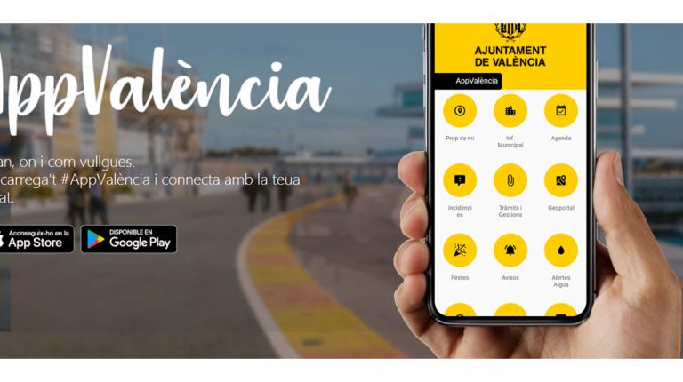 El Ayuntamiento potencia el envío de avisos a los teléfonos móviles a través de appvalència