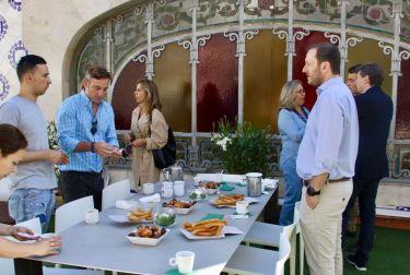 El Mercado Central ofrece esta noche una cena especial a los ganadores del sorteo de la Nit de Sant Joan