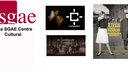 AGENDA - avance Sala SGAE Centre Cultural - Valencia