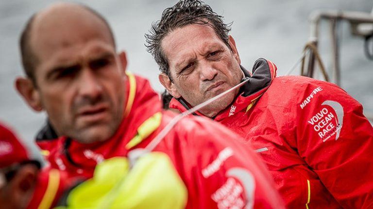 El navegante español Joan Vila regresa con el MAPFRE a la Volvo Ocean Race